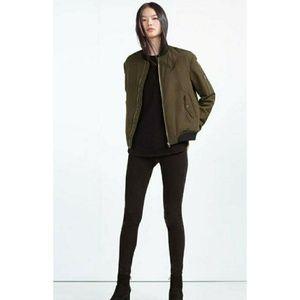 Zara bomber jackets
